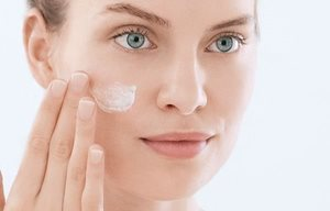 Apply acid peel after cleansing and toning