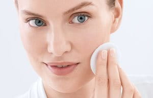 Use micellar water for acne in the morning and evening