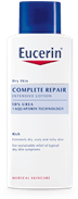 Eucerin Complete Repair Intensive Lotion for dry, rough and tight skin